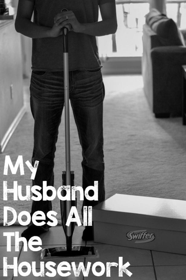 my husband does all the housework
