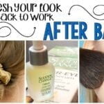 refresh your look after having a baby feature