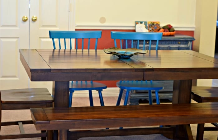 How I Took My Dining Room From Functional To Fabulous: 10 Easy Steps!