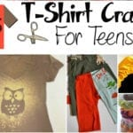 25 T-Shirt Crafts for Teens