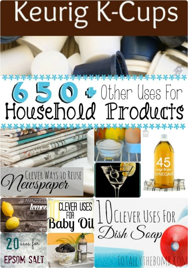 650 other uses for household products