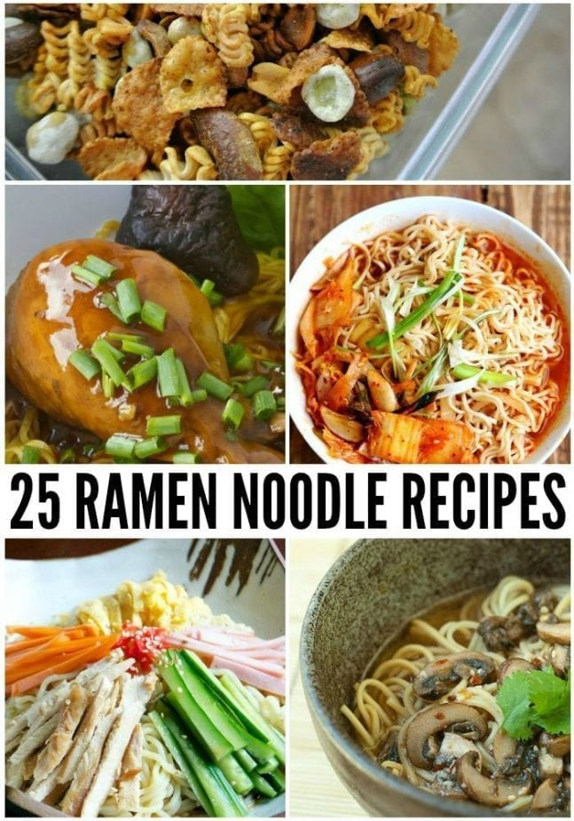 25 easy ramen noodle recipes