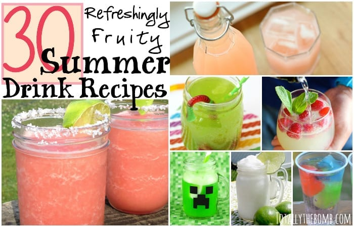 30 Refreshingly Fruity Summer Drink Recipes