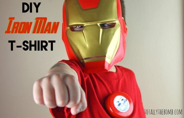 DIY iron man shirt featured
