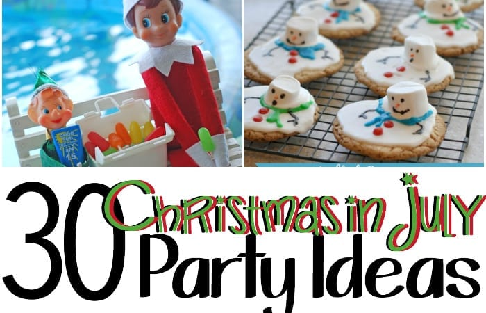 christmas in july party food ideas