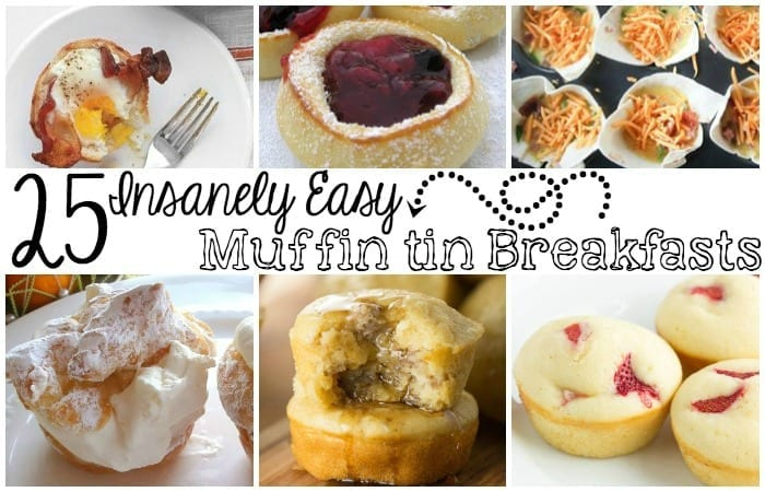 25 Insanely Easy Muffin Tin Breakfast Recipes