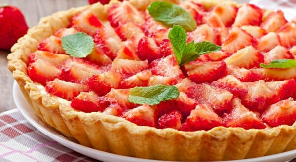 dairy-free strawberry tart