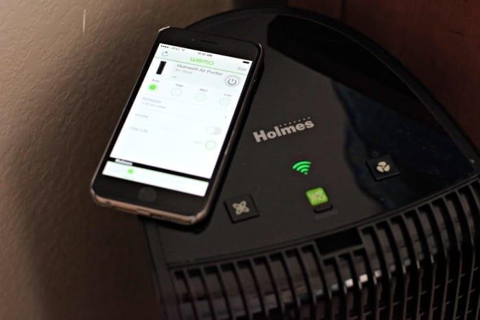 wemo holmes purifier app
