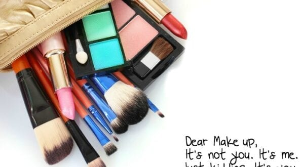 why not to wear makeup