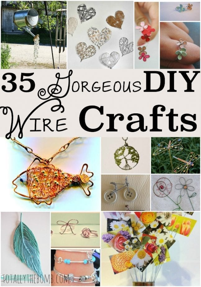 35 Gorgeous DIY Wire Crafts