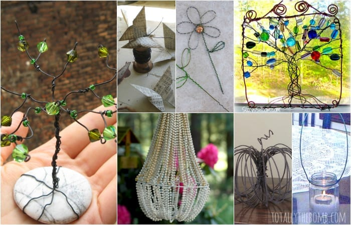 35 gorgeous diy wire crafts solutioingenieria Choice Image