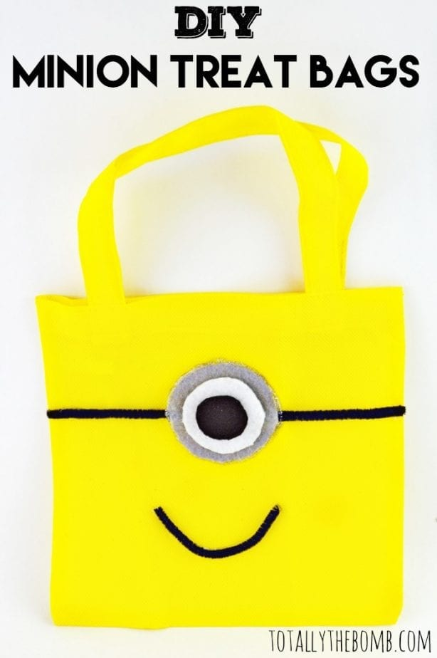 DIY Minion Treat Bags