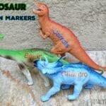 DIY Dinosaur Garden Markers