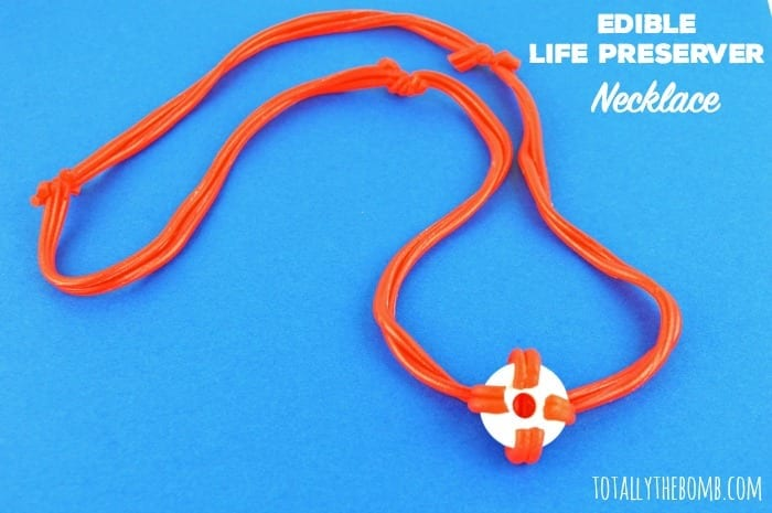 Edible Life Preserver Necklace Featured