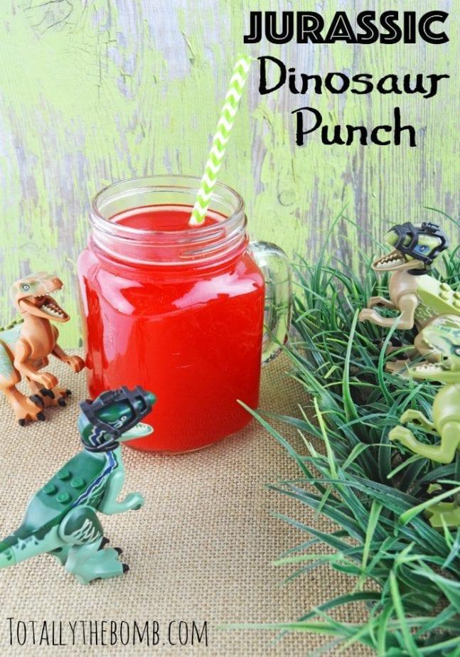 Jurassic Dinosaur Punch