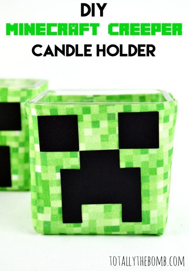 Minecraft Creeper Candle Holder