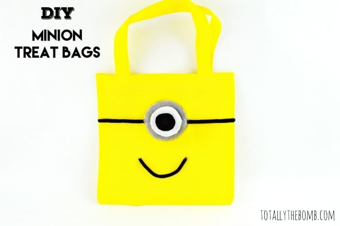 Minion Treat Bags Featured