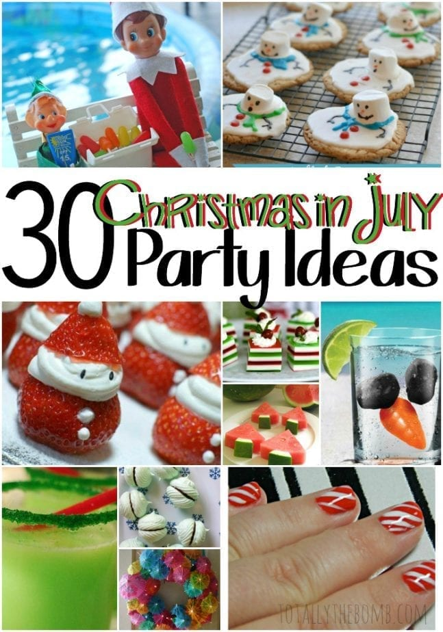 30 christmas in july party ideas for Christmas in july party ideas