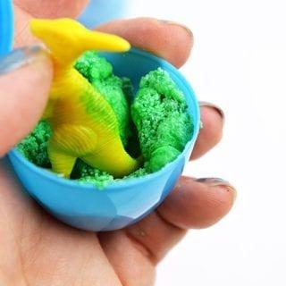 Homemade Dinosaur Egg Bath Bombs