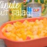 2 Minute Fruit Salad
