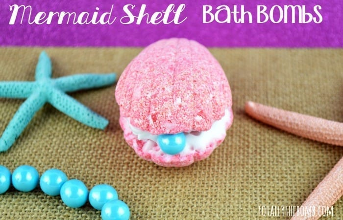 Mermaid Shell Bath Bombs Featured