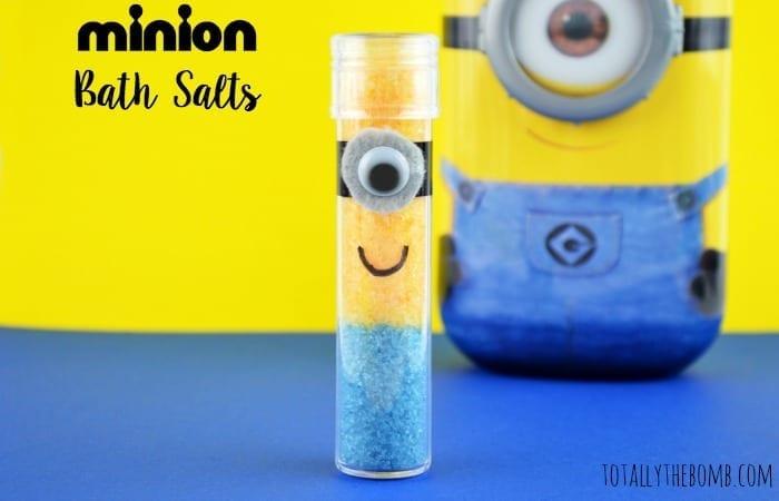Homemade Minion Bath Salts