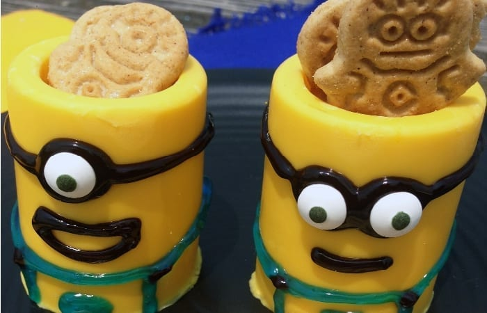 Minion Yellow Chocolate Cups