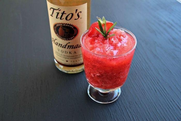 Strawberry Vodka Slush 3