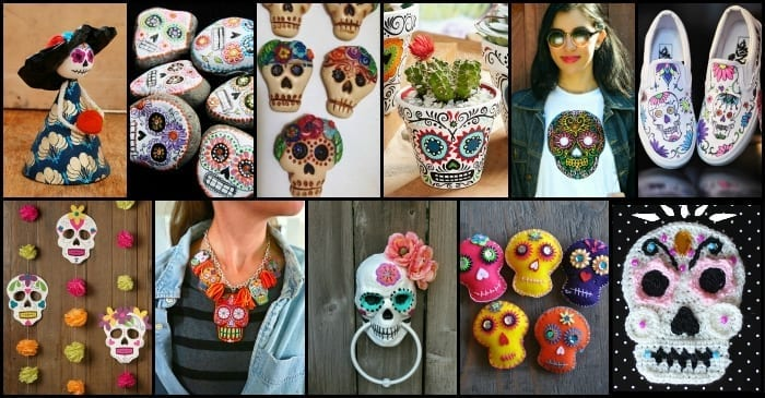 Dazzling DIY Sugar Skull Crafts