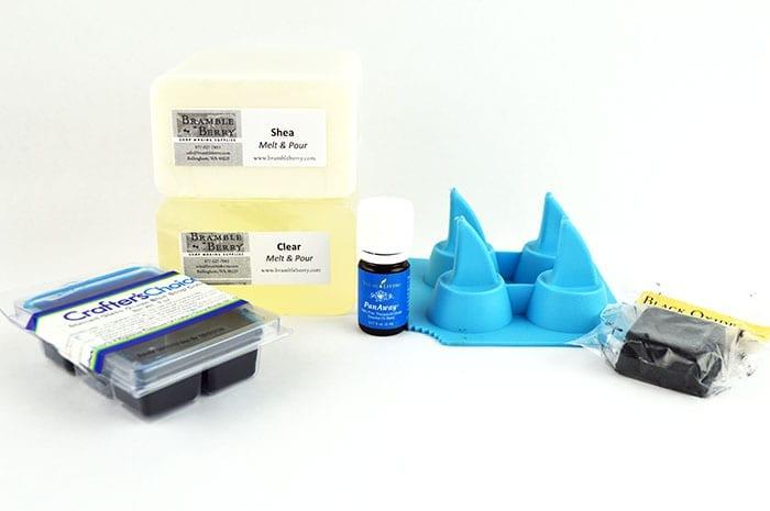 shark fin soap supplies
