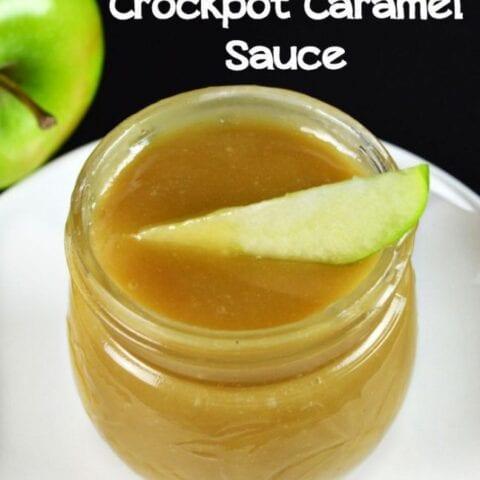 Homemade Crockpot Caramel Sauce
