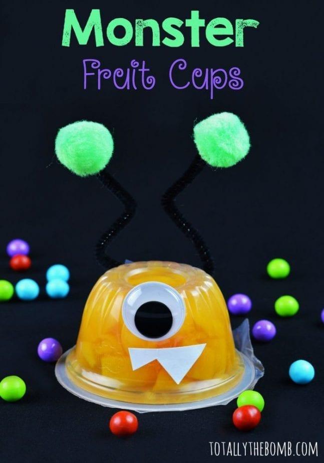 Monster Fruit Cups