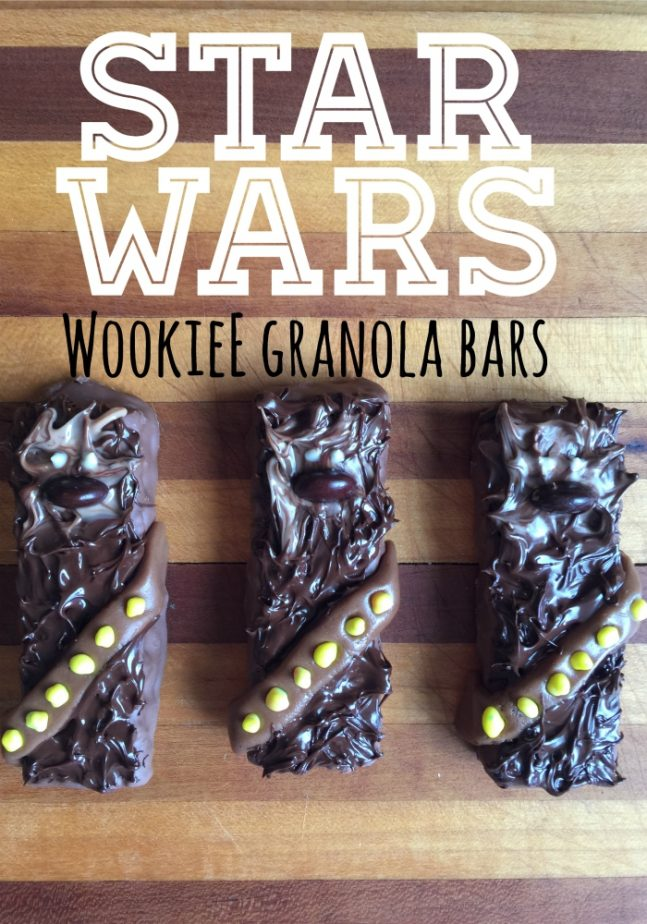 Star Wars Wookiee Granola Bars