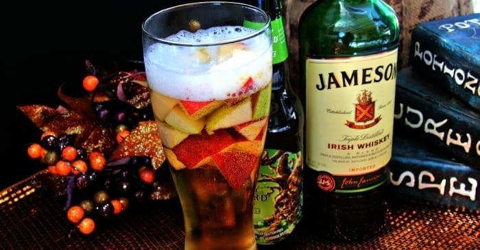apple whiskey beer