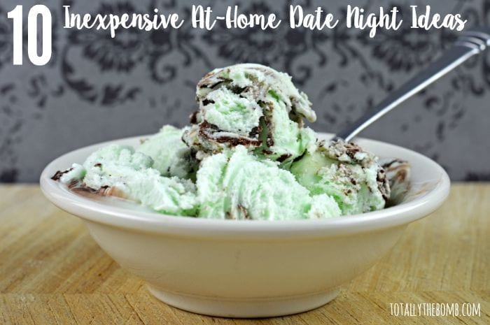 10 inexpensive at home date night ideas