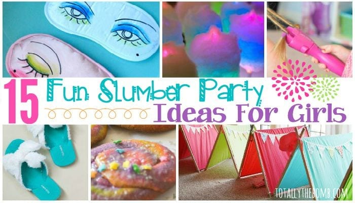 15 fun slumber ideas for girls featured