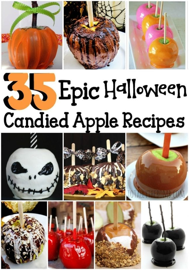 epic halloween candied apple recipes