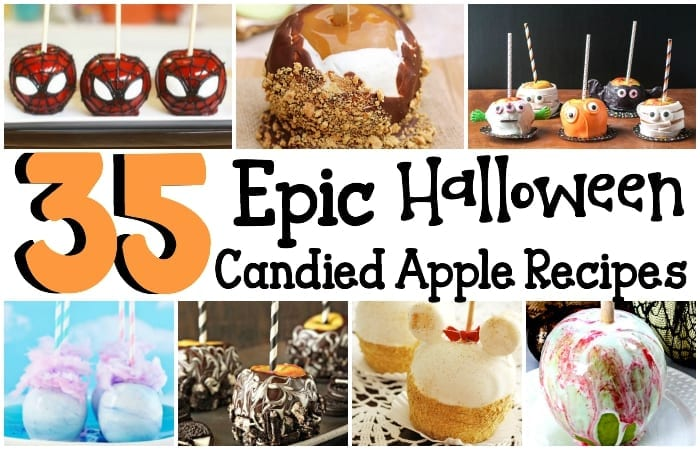 35 epic halloween candied apple recipes