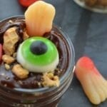Body Parts Pudding ~ A Halloween Snack
