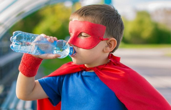1 Simple Trick To Get Your Child to Drink More Water