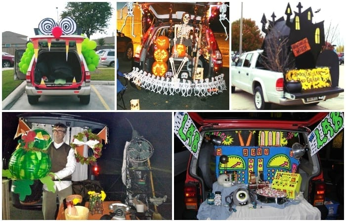 Super Simple Trunk Or Treat Ideas