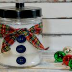 Gift Idea: DIY Snowman Candle