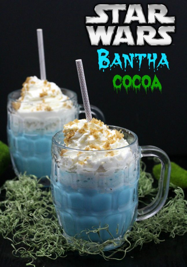 Homemade Star Wars Bantha Cocoa recipe for kids that love Star Wars