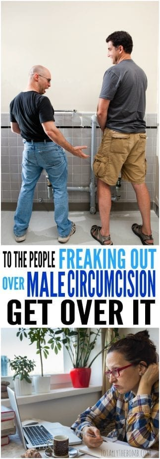 It's not going to grow back...so if you're freaking out over Male Circumcision, you might need to let it go. Click now!