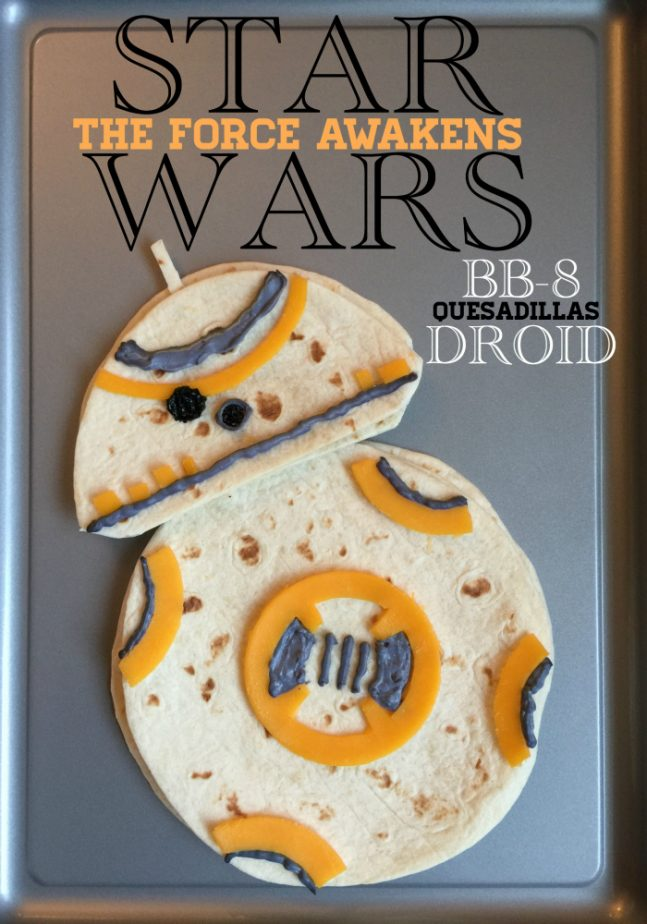 Star Wars Droid Quesadillas for Families