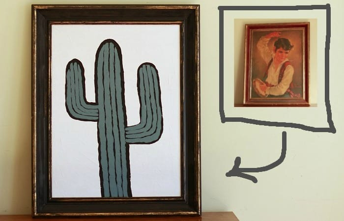Thrift Store Painting HACK