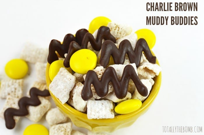 charlie brown muddy buddies featured