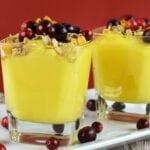 Crunchy Cranberry Orange Pudding