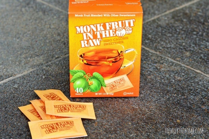 monk fruit in the raw packets