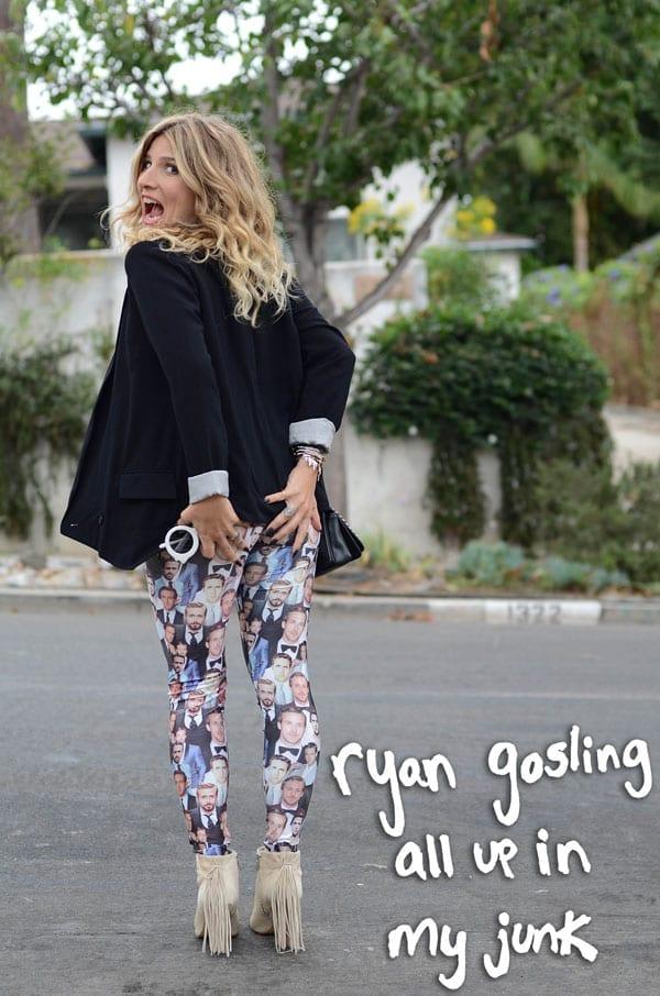 ryan gosling leggings